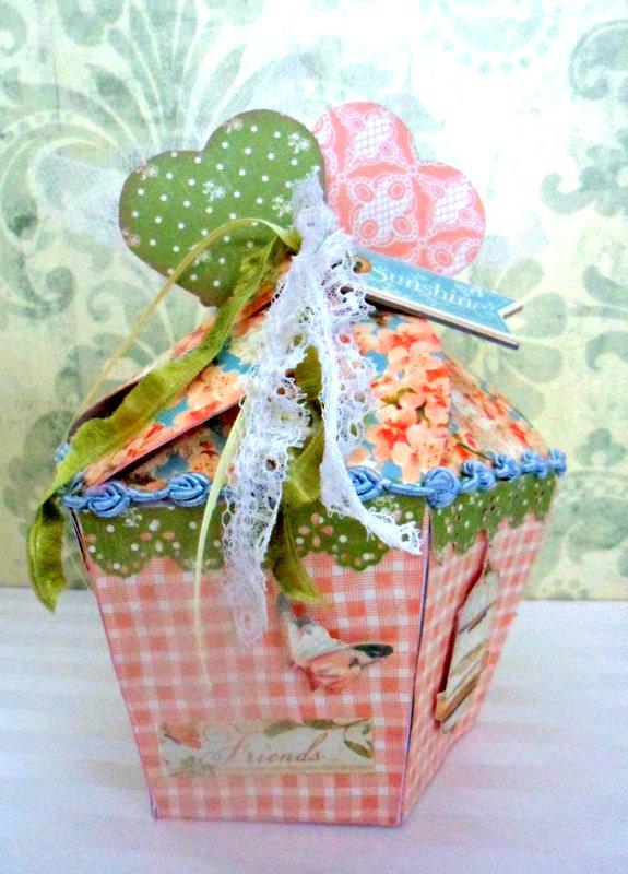 """sunshine"" Valentine candy box"