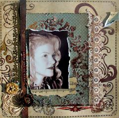 KEYS TO THE PAST with SCRAPS OF ELEGANCE December Kit