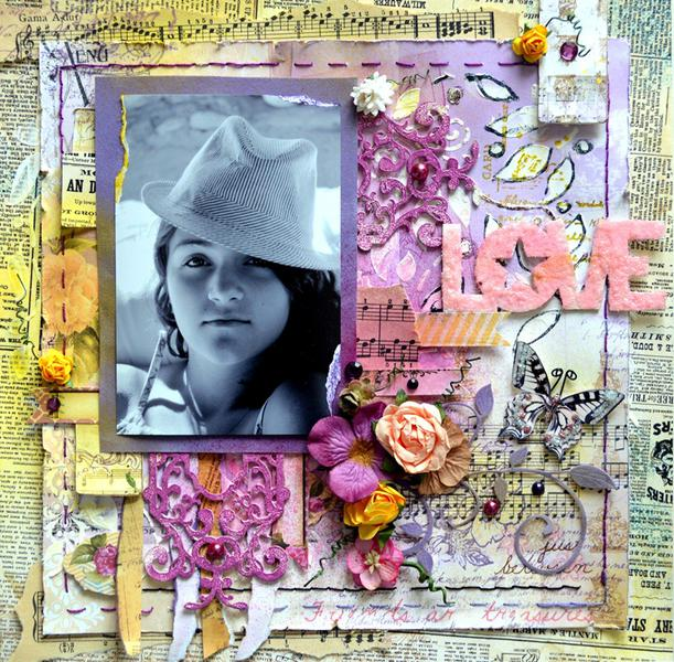 LOVE MUSIC with ***Scraps of Elegance***