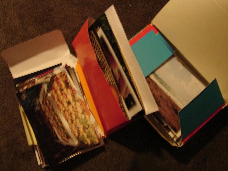 unorganized prints