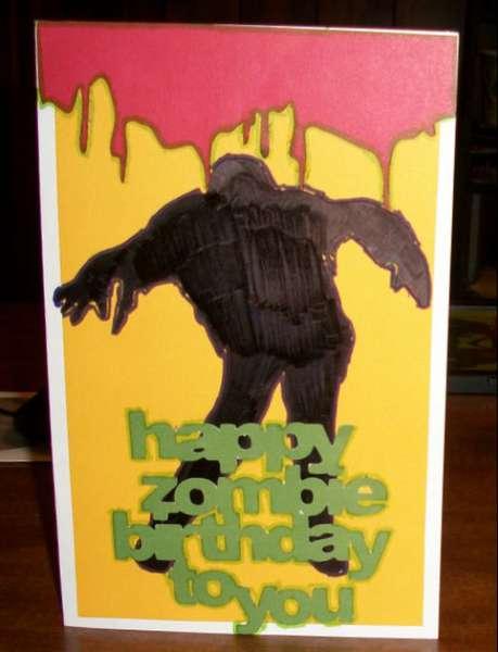 zombie birthday