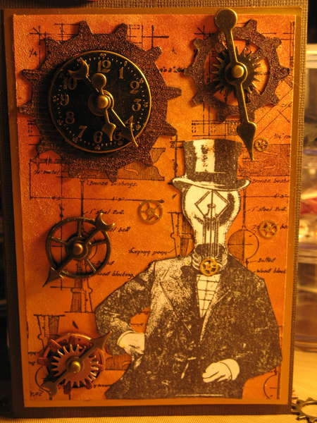 Mr Bright Ideas Meets Mr Tim Holtz