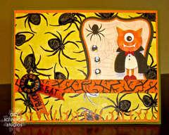 Halloween 2011 - One eyed vampire