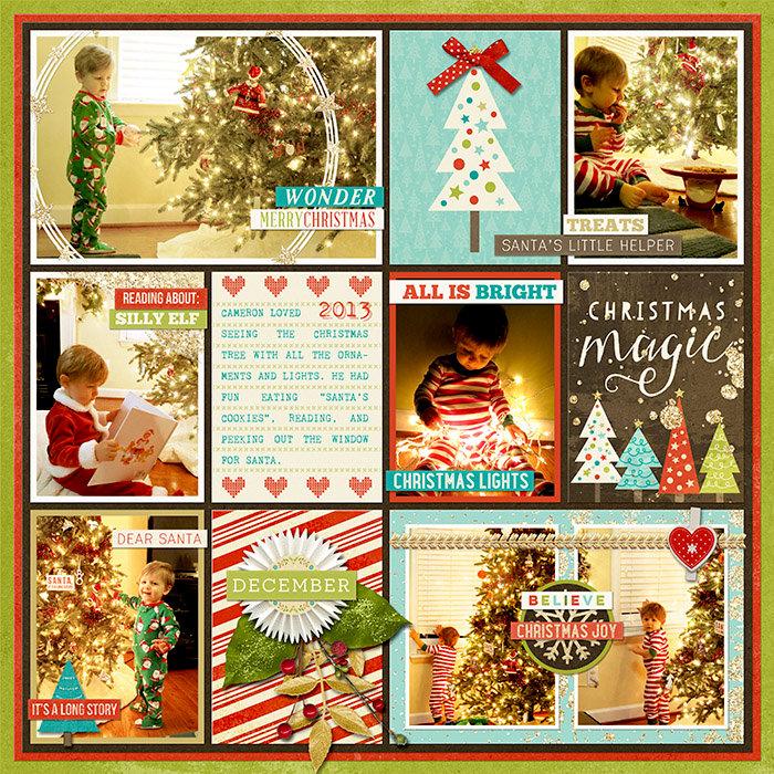 Christmas Magic Begins: Cameron 1.5 yrs