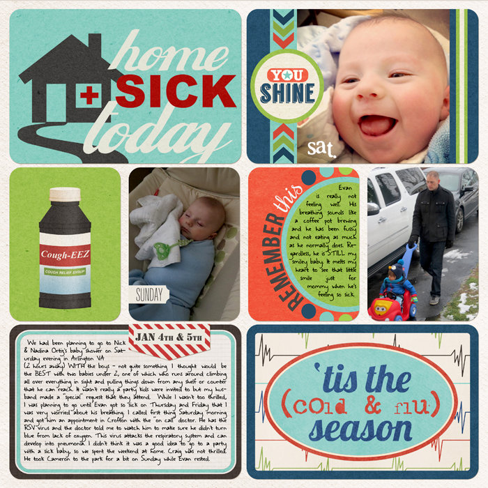 PL 2014 (W1, D4-5): Home Sick Today