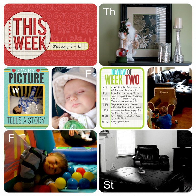 Project Life 2014 (Week 2, Page 2): RSV