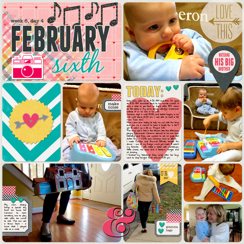 Project Life 2014 (Week 6, Day 4): The Sound of Music