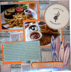 LuLu's Surf Club food.