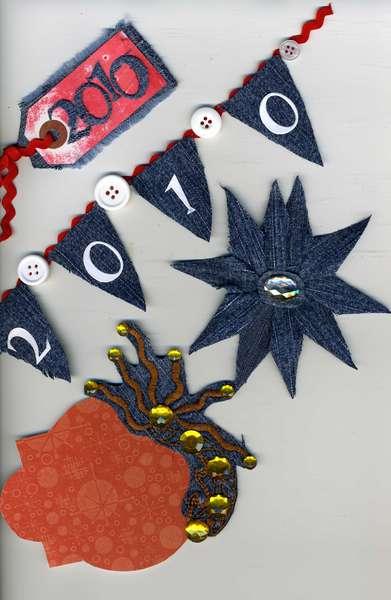 Blue Jean Embellishments for Facebook Swap