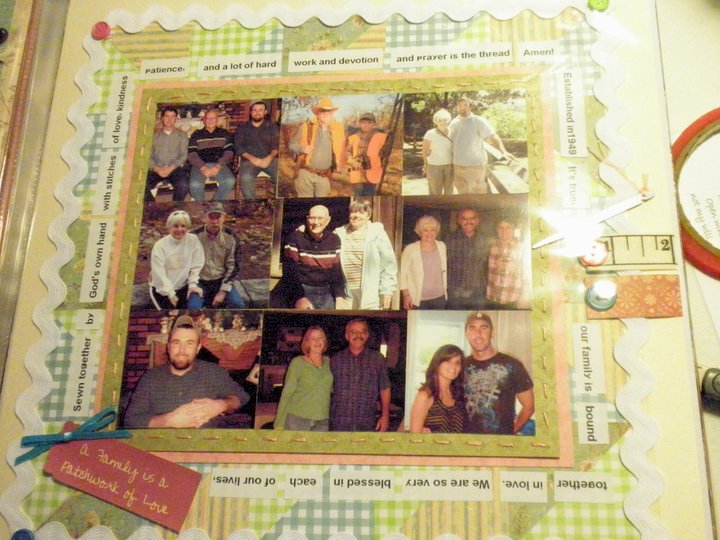 She quilts family