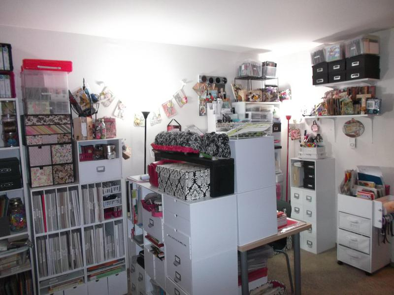 My Updated Craft Space 1