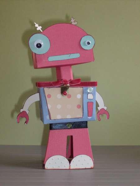 Cricut Robotz #50 3-D