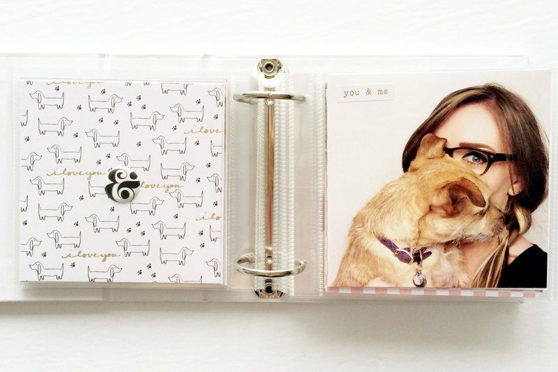 My Pup and Me featuring Baxter from Seven Paper for Studio Calico