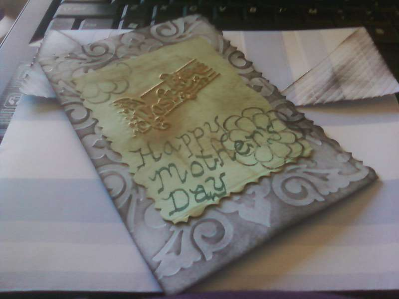 National Scrapbook Day snail mail challenge quick draft