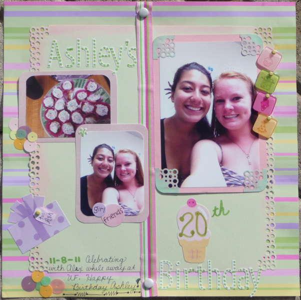 Ashley's 20th Birthday