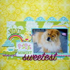You Are The Sweetest Thing (Cosmo Cricket's Delovely)