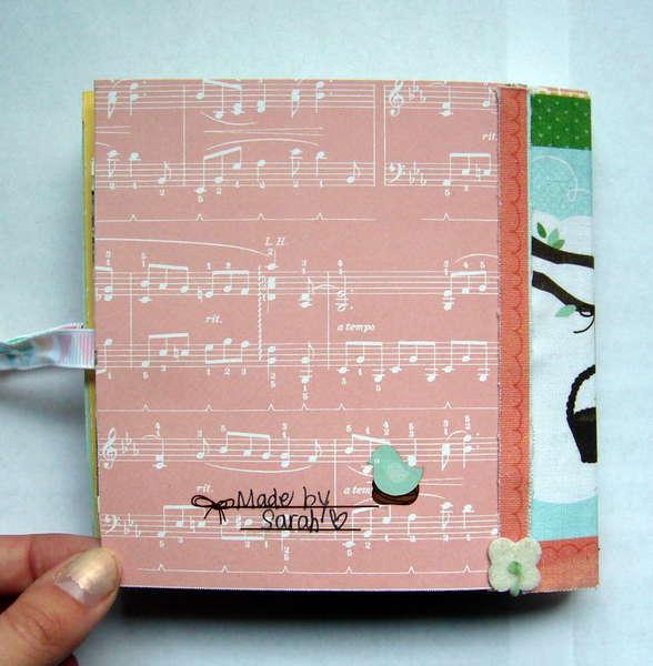 Europe Mini Album - Back Cover *Dear Lizzy Spring*