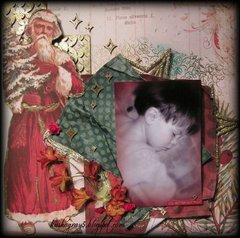 BETTER NOT POUT - ~Scraps of Elegance~ Mistletoe Memories December Kit 2013