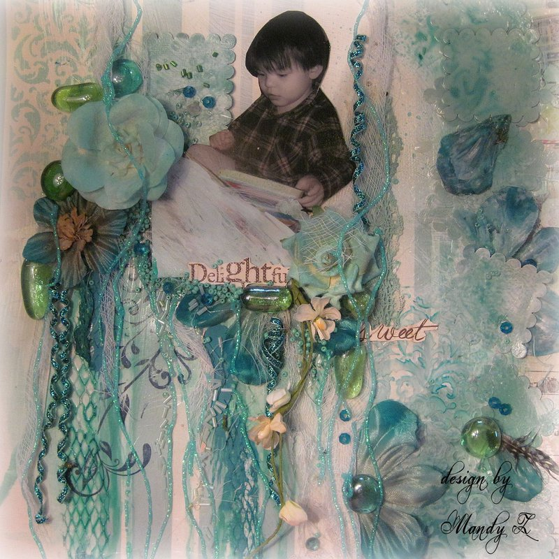 "DELIGHTFUL - SWEET ~Scraps of Elegance~ June Kit ""Whimsy"" DT Projecct"