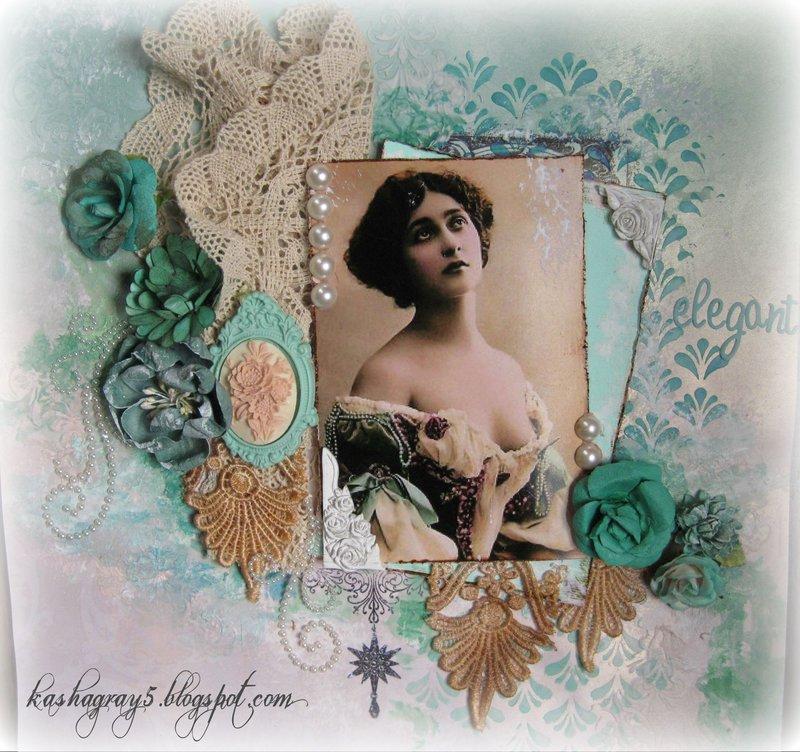 "ELEGANT ~Scraps of Elegance~ November Kit ""Thankful"""
