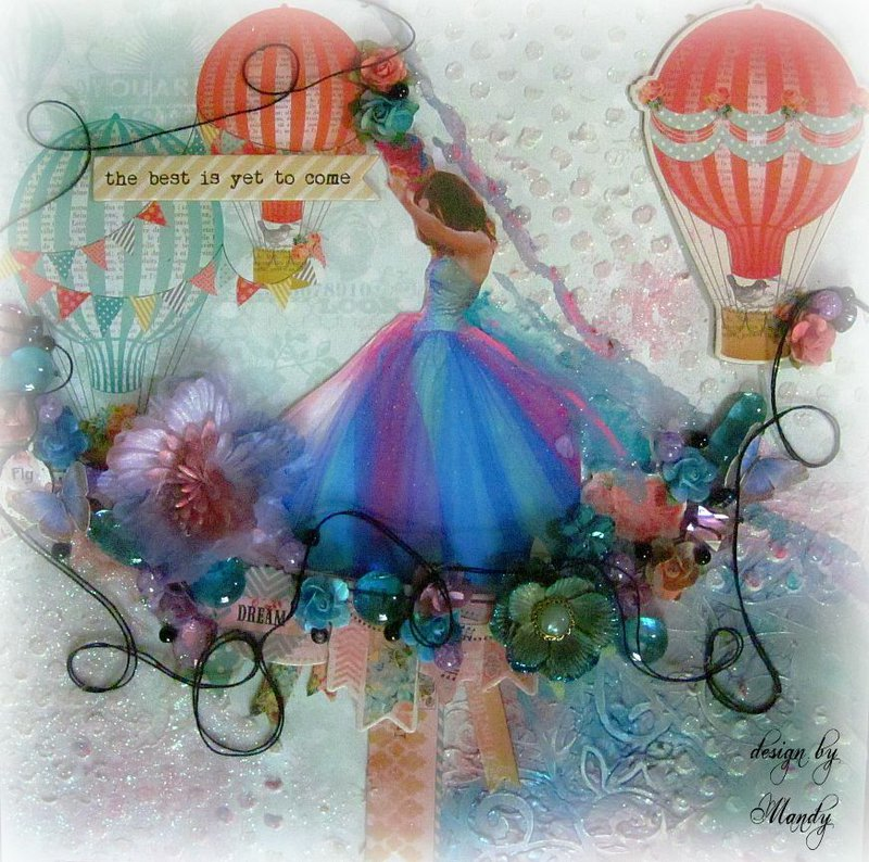 "FLY ~Scraps of Elegance~ DT Project-June Kit-""Whimsy"""