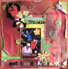 SCREAM OUT LOUD ~SHAWN DAVIS DESIGNS~
