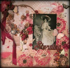 STUNNING ~Scraps of Elegance~ Simply Shabby Chic September Kit