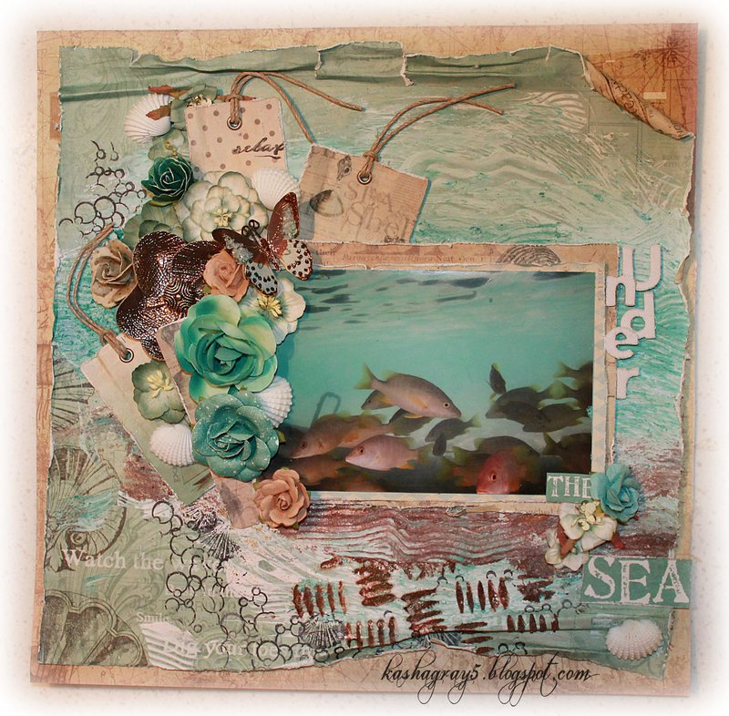 SCRAPS OF ELEGANCE - CAPE MAY HOLIDAY KIT