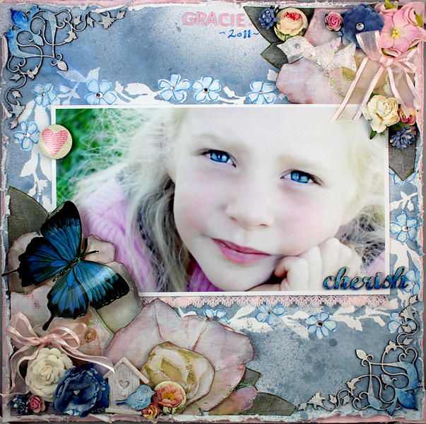 Cherish ~ DSD ~ Dusty Attic ~ Australian Scrapbook Ideas ~