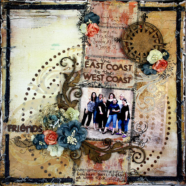 Friends - East to West Coast ~Dusty Attic ~