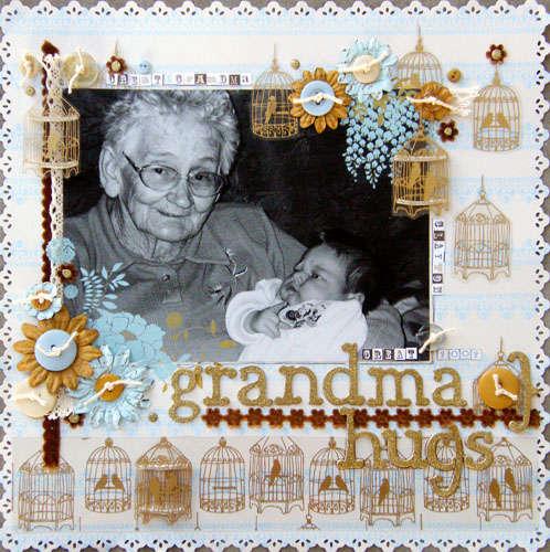 Great Grandma Hugs