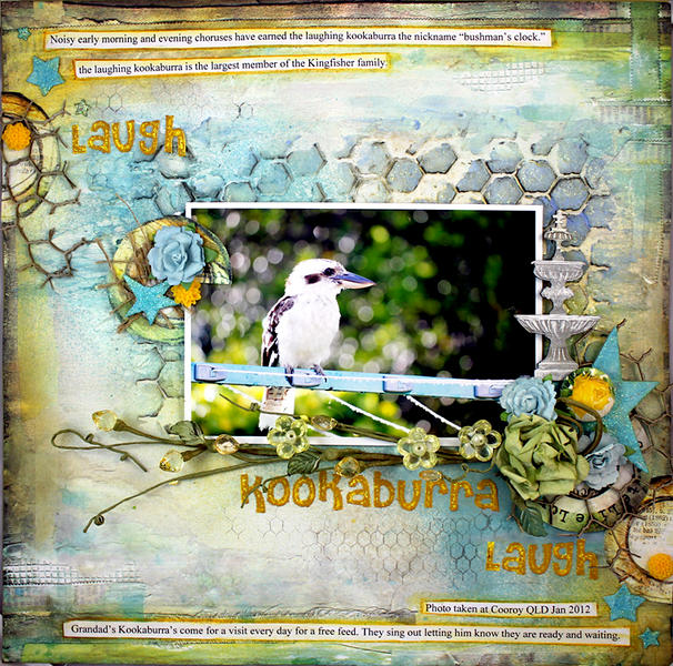 Laugh Kookaburra ~ Dusty Attic ~CSI~