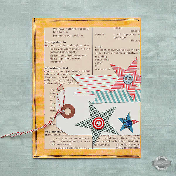 Stars Generic Card {Studio Calico July Kit}