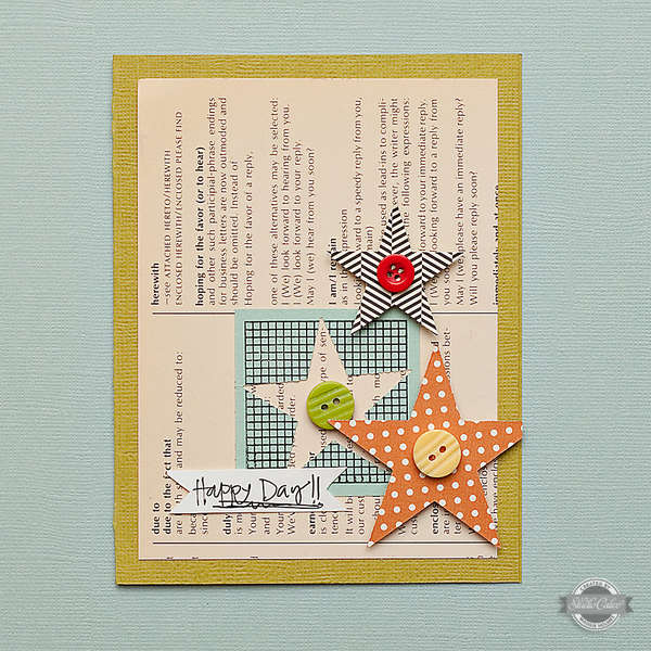 Happy Day Card {Studio Calico July Kit}