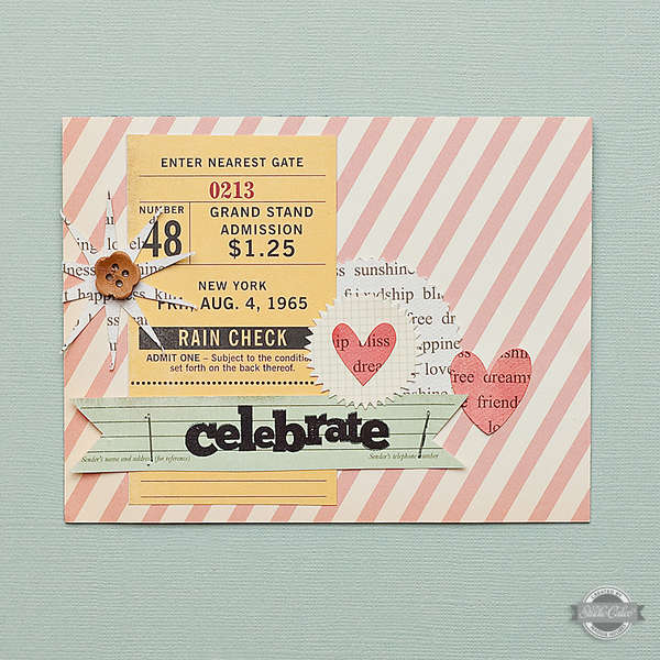 Celebrate Card {Studio Calico July Kit}