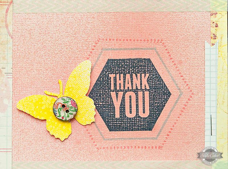Thank You Card {Studio Calico June Kits}