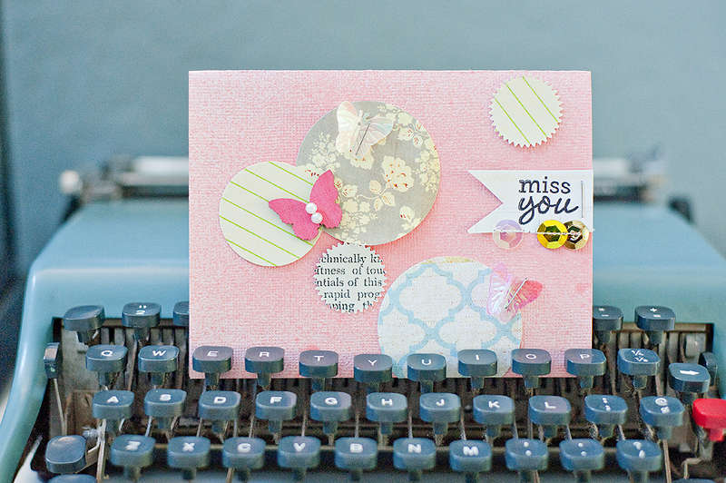 Miss You Card {Studio Calico}