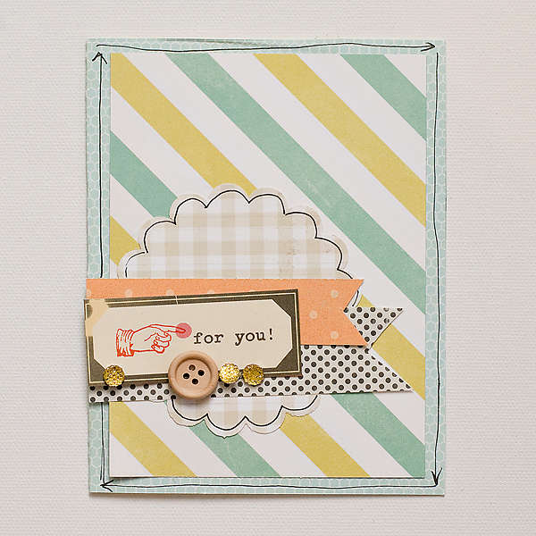 For You Card {Studio Calico May Kit}