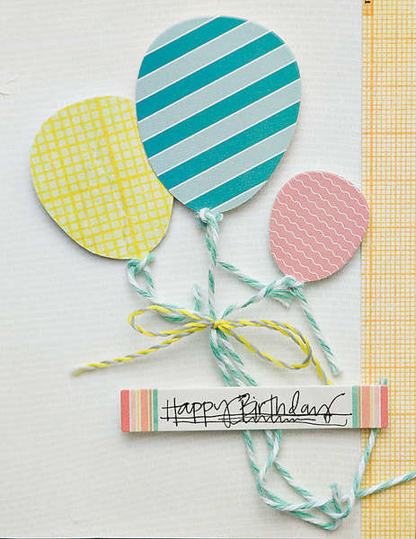 Happy Birthday Card {Studio Calico Hey Day}