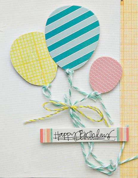 Happy Birthday Card {Studio Calico Hey Day}