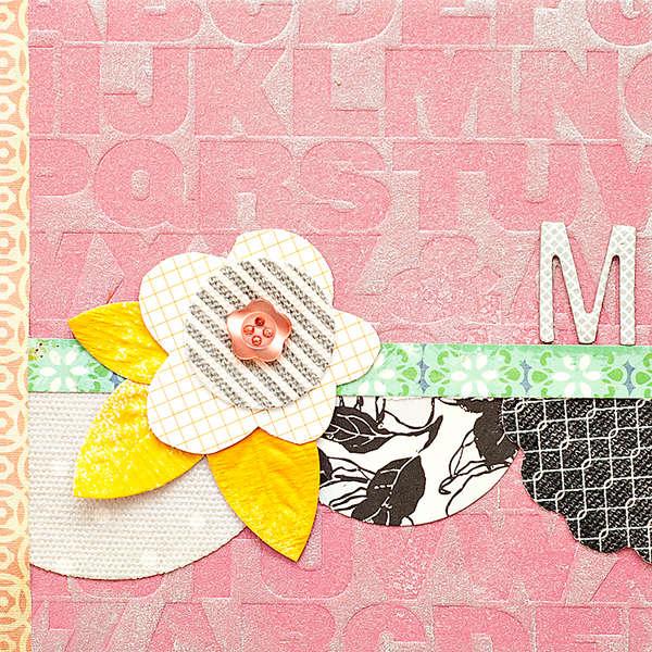 M Mini Book {Studio Calico November Kit]