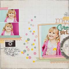 My Cute Girl {Studio Calico}