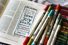 Bible Margin Traceable & Bookmark