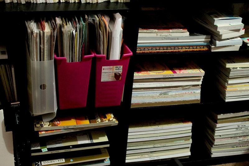 Pattern Paper Storage