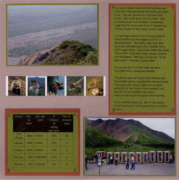 Denali National Park page 3 left