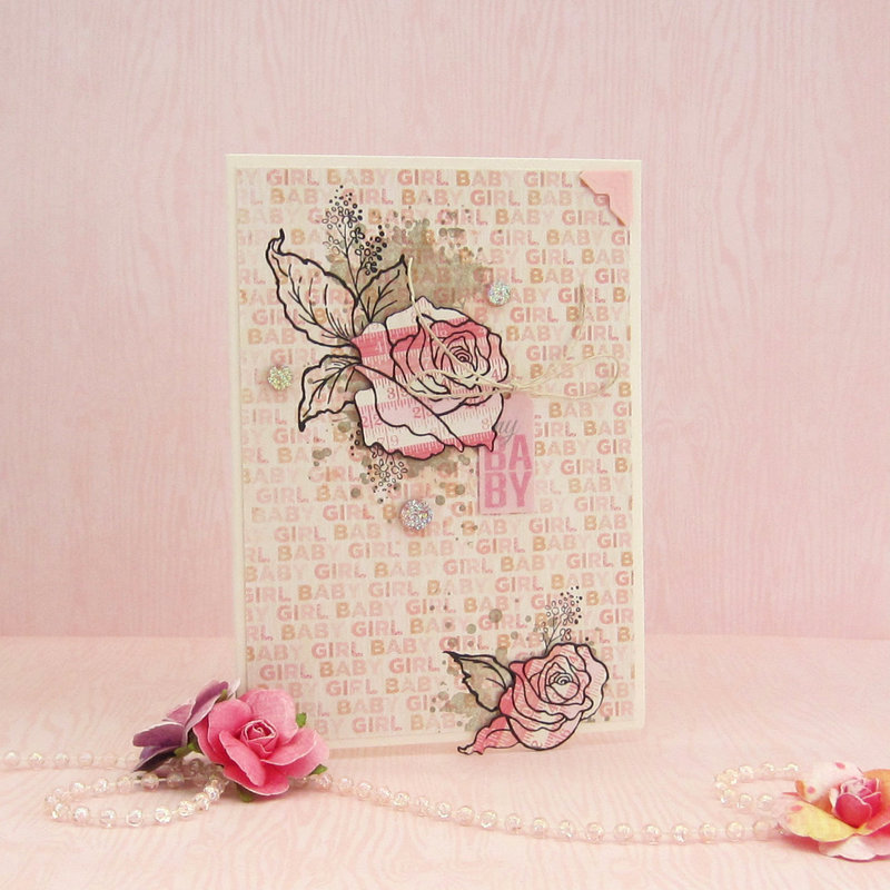 My Baby Card *Scrapbook Adhesives by 3L DT*