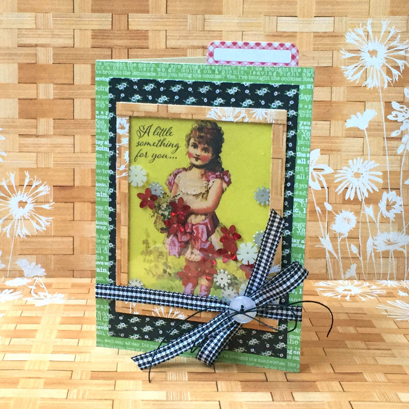 A Little Something Shaker Card *Scrapbook Adhesives by 3L DT*