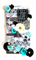 All the Simple Little Things Canvas *Flying Unicorn CT*