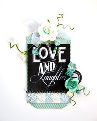 Love & Laughter Tag *Scrapbook Adhesives by 3L DT*