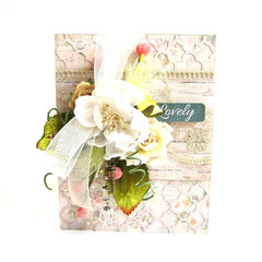 Lovely Card *Scrapbook Adhesives by 3L DT*